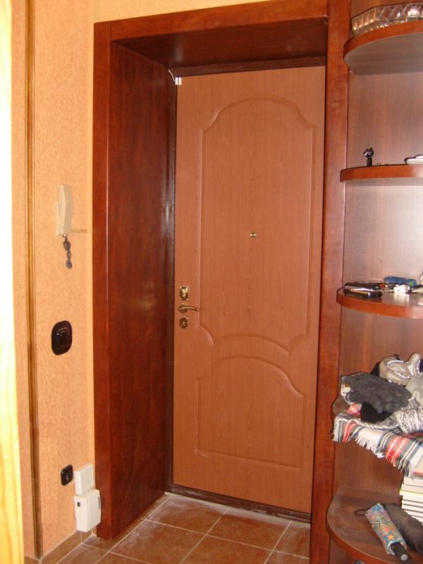 Входной двери отделка